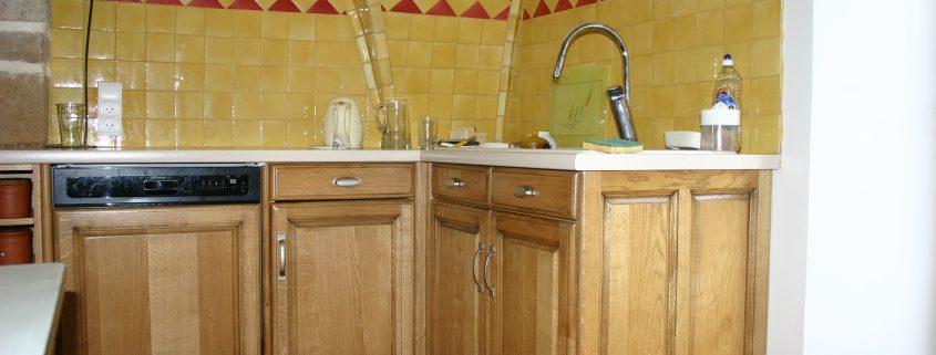 fabrication pose cuisine bois millau