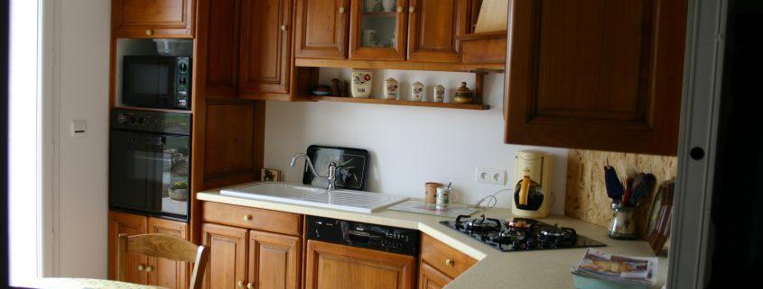 fabrication pose cuisine merisier millau