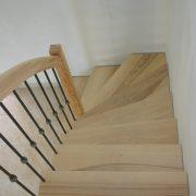 fabrication pose escalier bois millau
