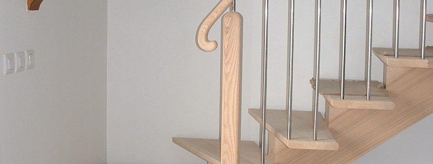 fabrication pose escaliers bois saint-beauzely