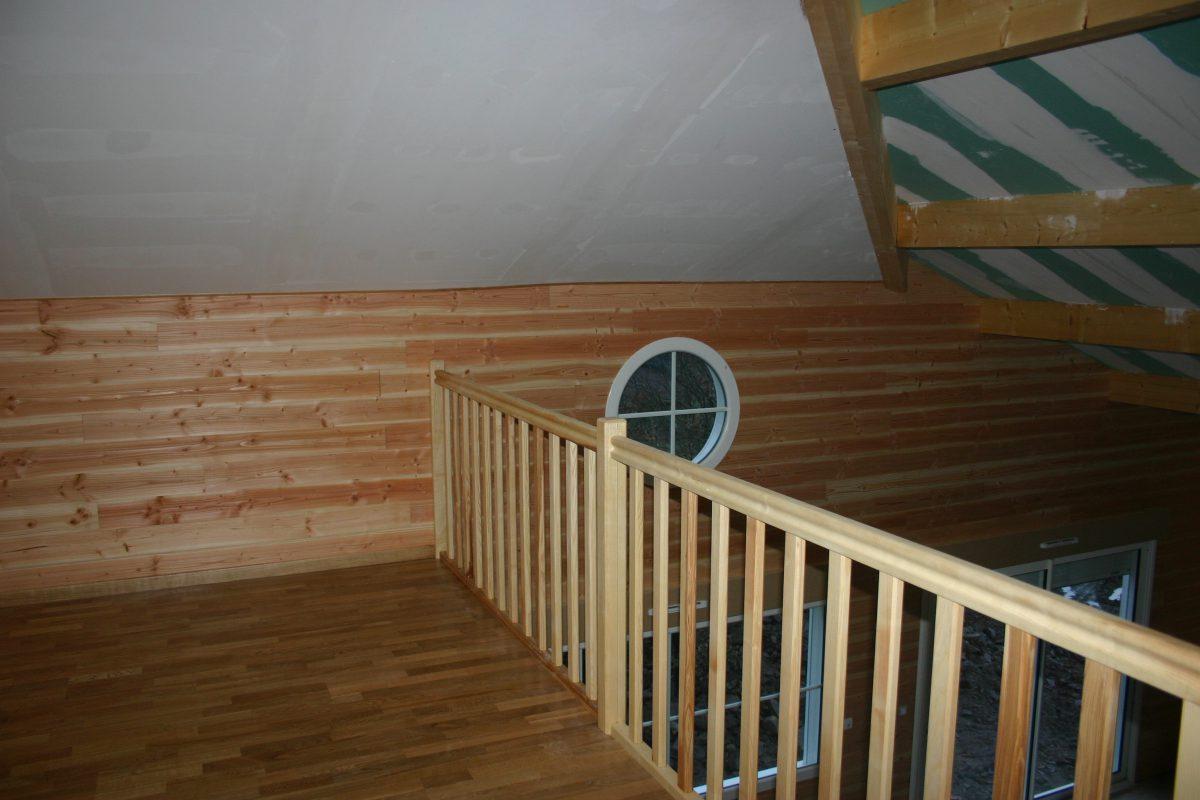 garde corps interieur bois mezzanine millau