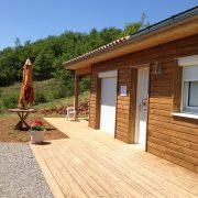 maison ossature bois bardage bioclimatique passive basse consommation peyre aveyron