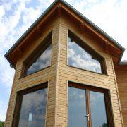 maison ossature bois bardage bioclimatique passive saint-beauzely
