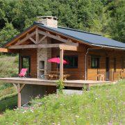 maison ossature bois bardage passive bioclimatique ossature bois camares chalet