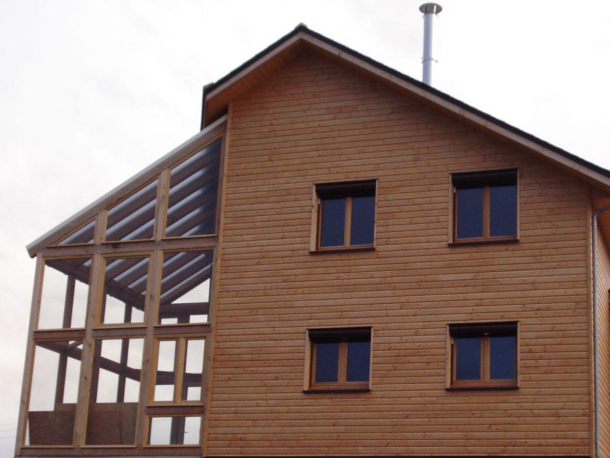 Bardage maison ossature bois cool grille anti rongeurs for Bardage maison ossature bois