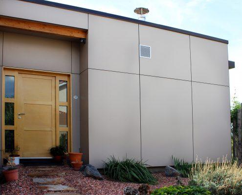 maison ossature bois trespa bioclimatique passive basse consommation pezenas