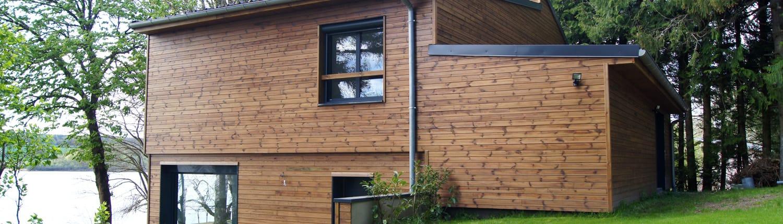 Maisons ossature bois extensions boissiere et fils for Fabrication ossature bois maison