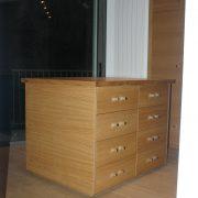 placard interieur bois nice
