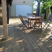 terrasse bois millau