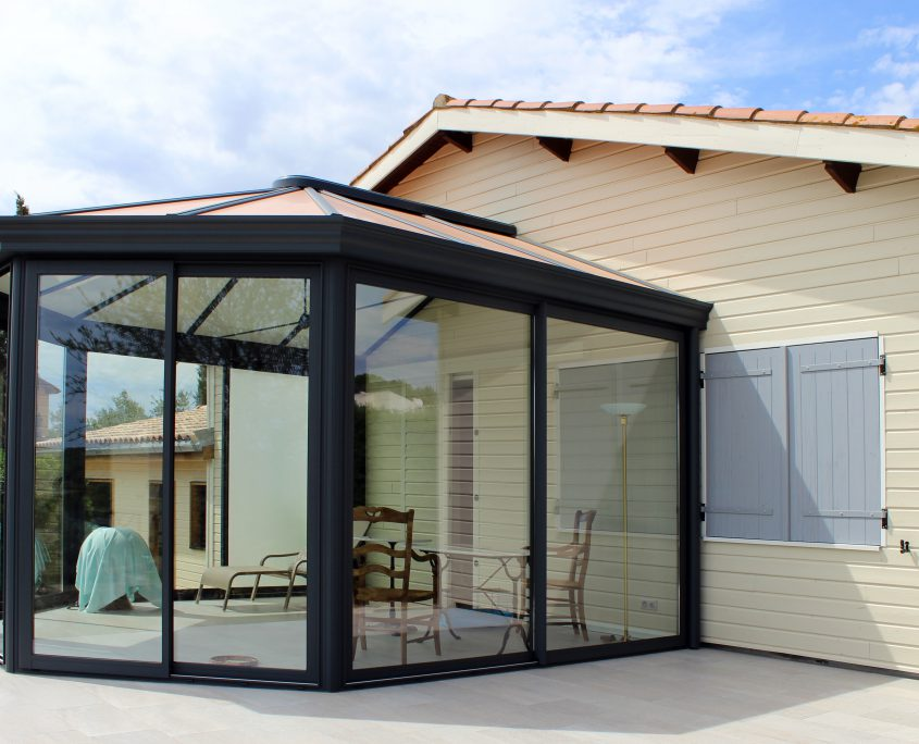 veranda alu millau extension