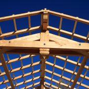 charpente traditionnelle chataigner millau