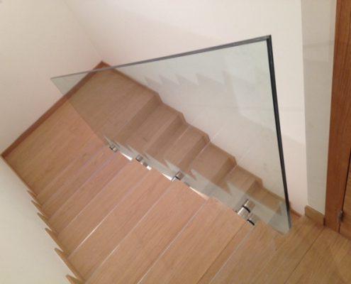 garde corps escalier interieur verre millau