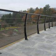 garde corps exterieur metal millau terrasse