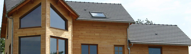 Maisons ossature bois extensions boissiere et fils maisons ossature bois en aveyron for Fabricant maison ossature bois