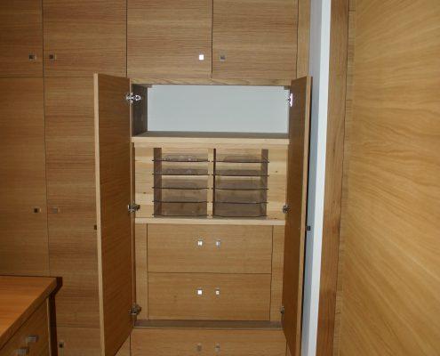placard interieur bois agencement nice