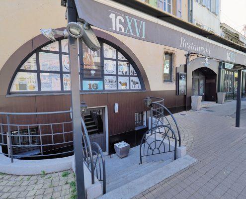 renovation devanture restaurant au 16 millau